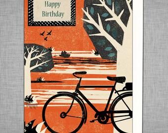 Park Life Bike Card