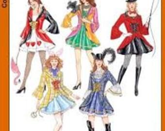 Simplicity 3685 size 14-20 Costume pattern Renn Fair, SCA, Larp, Steampunk, Fairy