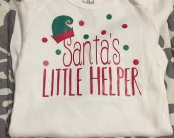 Santa's little helper, santa's helper, baby Christmas, Christmas