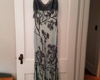 beautiful vintage evening gown