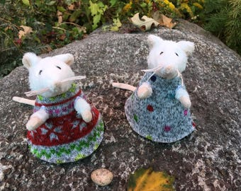Of Mice and Magic Clothing: Sleeveless Nordic Dresses