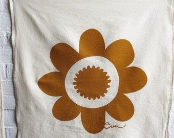 Tea Towel Daisy