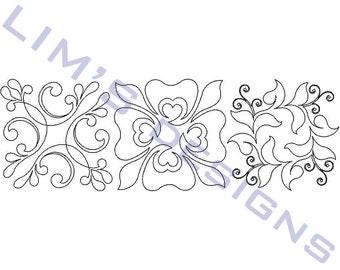 "Three Quilt Patterns N4 machine embroidery designs - 3 sizes 4x4"", 5x5"", 6x6"""
