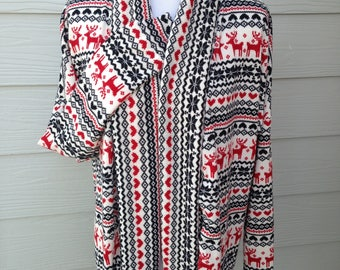 Holiday Comfy Cardigan, Wide Bands (Limited Edition)