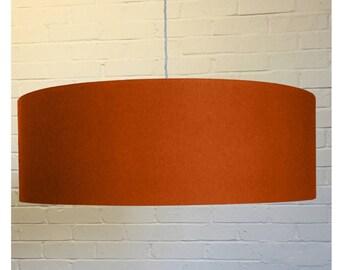 Burnt Orange Drum Lampshade Lightshade Ceiling Pendant 20cm 25cm 30cm 35cm 40cm 45cm 50cm 55cm 60cm