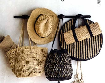 Eco Andaria Standard Hats and Sassy Bags - japanese craft book