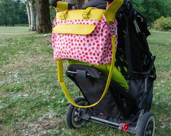 The Melanie Diaper Bag Pattern - PDF - Stroller Friendly