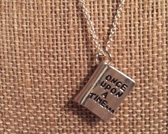 Once Upon A Time and Happily Ever After Necklace