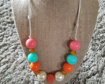Chunky bead necklace