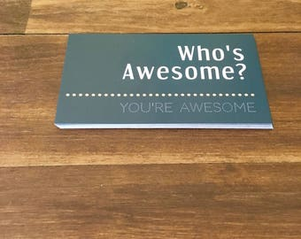 Who's Awesome? You're Awesome Calling Cards
