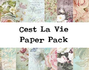 Cest La Vie Mini Paper Pack