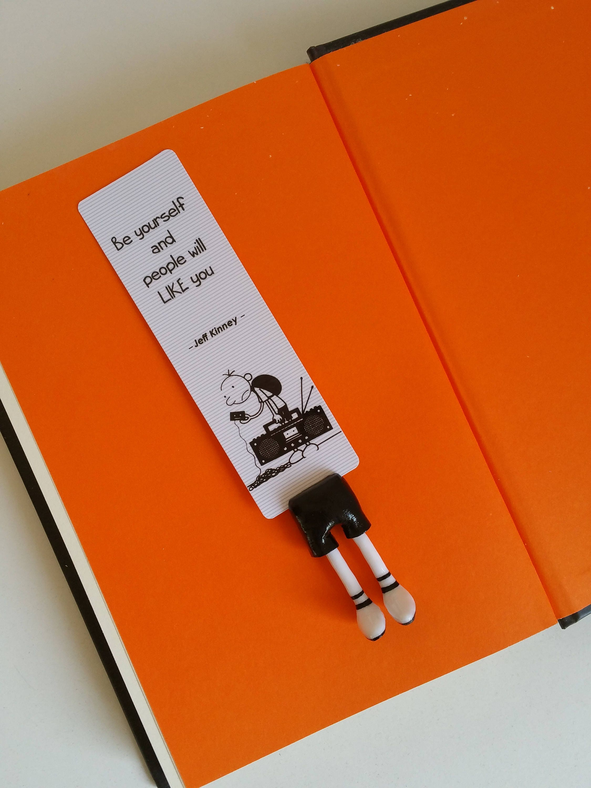 Diary Of A Wimpy Kid Bookmark Greg Heffley Bookmark Perfect # Muebles Tipo Wimpy