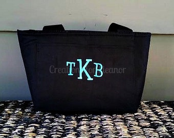 Monogram Lunch Bag, Monogram Lunch Box, Monogram Lunch Tote, monogram lunch, monogram lunch bag for adults, monogram lunch box for adults