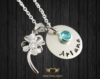 Flower Girl Necklace - Flower Girl Gift - Wedding Necklace - Little girl gift - Child Necklace - Flower Girl Jewelry