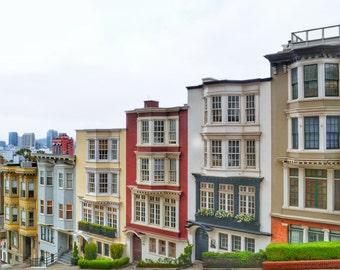 San Francisco Houses Photo Print