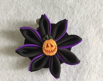 Halloween Kanzashi Flower