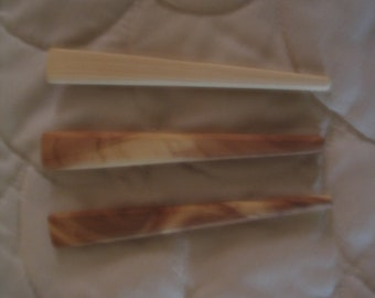 Cedar wooden iron for quilting.  I like being able to sew my blocks together, by pressing my seams as I go.