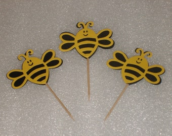 Bee Cupcake Topper Picks for Birthdays, Baby Showers, Parties