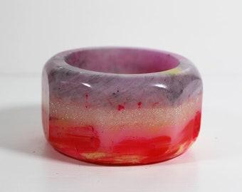 AS_52, bracelet en résine, bracelet résine, bijoux italien, fait à la main en Italie