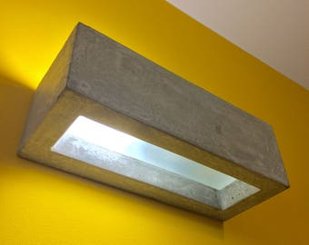 Concrete Wall Lamp Sconce Small - 17cm