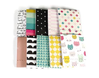 Set of 20 Matchbook Notepads Mini Note Pads in Cute Girl