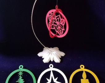 Silverpaws Studios 3D Paper Ornaments [Set 03]