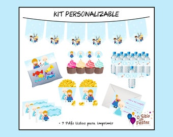 Frozen-Kit printable and customizable