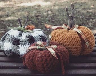 Cozy Crochet Pumpkins