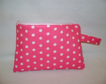 Small Polka Dot Clutch