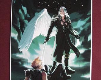 Final Fantasy VII Fanart Print - Judgment