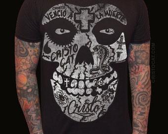 Misfits Shirt Punk Rock Texture Tee