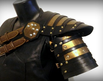 Steampunk armor shoulder Cosplay