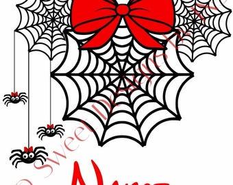 Disney Halloween Spider Web