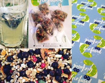 Ginfused - Gin Flavoured Botanical Infusion Bags. Pack of 5.