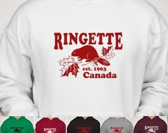 RINGETTE Canada Beaver Hoodie