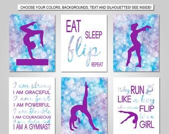 Gymnastics decor | Etsy