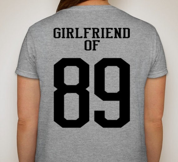 Very best Items similar to Sports Girlfriend of # Customized t-shirt Proud  MK98