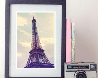 Paris Photography Print, Eiffel Tower Photo, Paris Wall Art, Home Decor, Paris Architecture, Fine art photography, vintage, whimsical