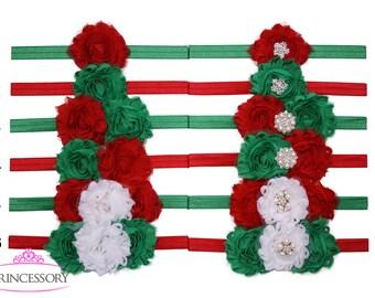 Christmas headband baby, Christmas outfit baby girl, Newborn Christmas headband, baby headband, Newborn Christmas outfit, Holidday CM03