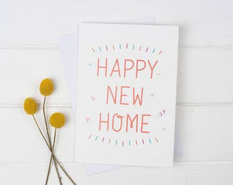 New home card, New house card, First house card, Housewarming card, Housewarming gift, New house card, New house gift, House card