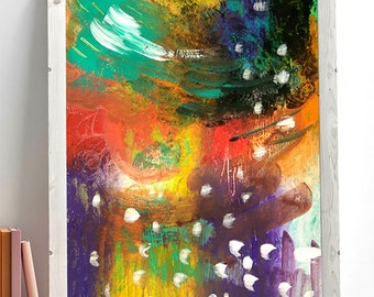 Storm - abstract - originale - abstract paint