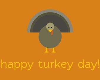 Happy Turkey Day Thanksgiving Banner