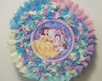 Belle (Beauty and the Beast) Pull String or Hit Pinata