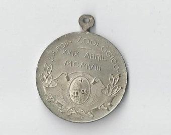 1908 Argentina Jardin Zooligico Medal-me1817012