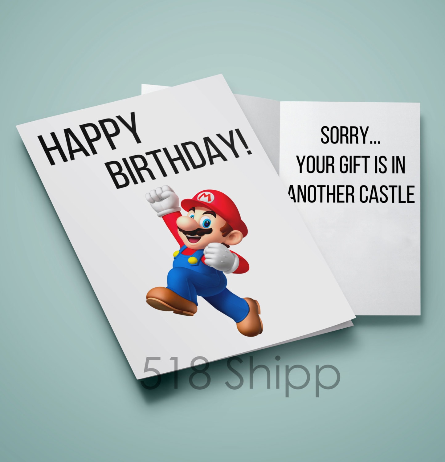 Mario happy birthday your gift is in another castle humor zoom bookmarktalkfo Image collections