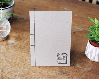 Japanese bind zero waste notebook