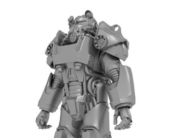 Fallout 4 Power Armor T-60 Armor for 3D-printing wearable suit