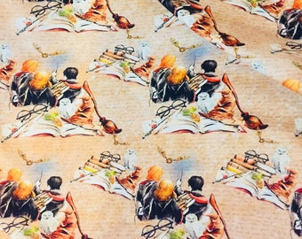 Wizards  CL knit 1 yard new