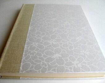 Wedding Journal Handbound Diary Notebook Blank Paper