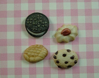 Cookie Buttons set of 4